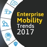 2017 TRENDS IN ENTERPRISE MOBILITY [INFOGRAPHIC]